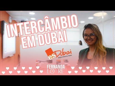 Intercâmbio em Dubai   Fernanda Lo Re