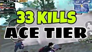 33 Kills by MortaL in SQUAD vs SQUAD ACE TIER | PUBG MOBILE