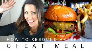 How To Rebound After a Cheat Meal   Keto Diet   Ashley Salvatori