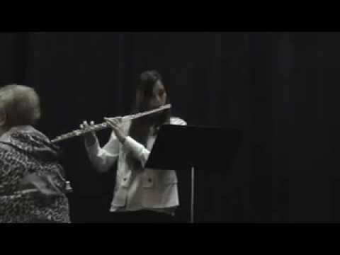 Playing Night Soliloquy by Kent Kennan for the state solo and ensemble festival- February 2009