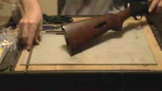 Winchester Model 63 .22lr rifle field strip procedure