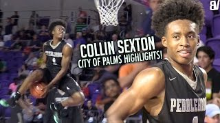 Collin Sexton Acts a FOOL In Florida! | City Of Palms Classic HIGHLIGHTS