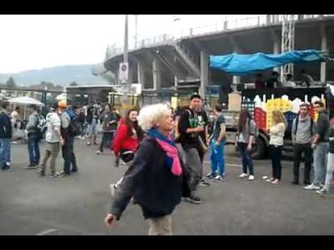 Una techno mamma alla Bergamo street parade