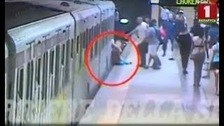 Обнародовано видео инцидента с белоруской в метро Рима