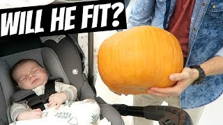 Putting Baby in a Pumpkin!