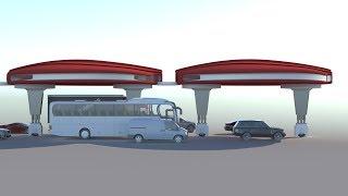 Dahir Insaat  द्वितीय स्तर परिवहन प्रणाली हिंदी।