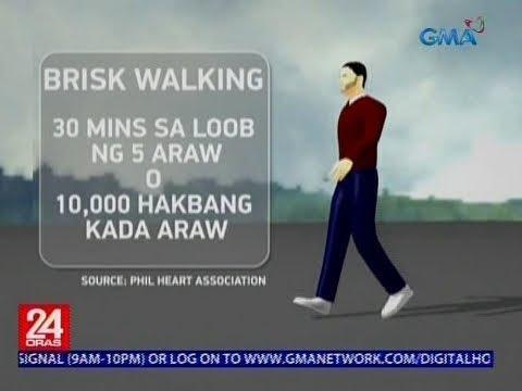 [GMA]  Pagsusuot ng sneakers tuwing Biyernes, isinusulong para makaengganyo sa pag-eehersisyo