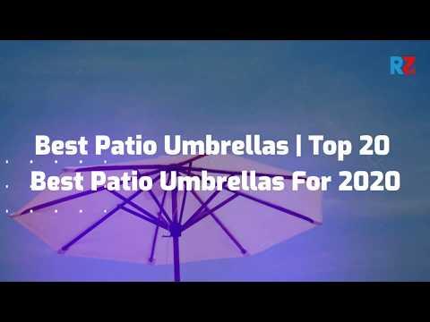 Best Patio Umbrellas   Top 20 Best Patio Umbrellas For 2020