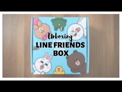 〚📦〛Unboxing LINE FRIENDS BOX | BT21 & LineFriends Merch
