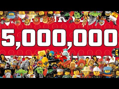 THANK YOU FOR 5 (6!) (7??) MILLION LEGO SUBSCRIBERS !! 😁🤗😎