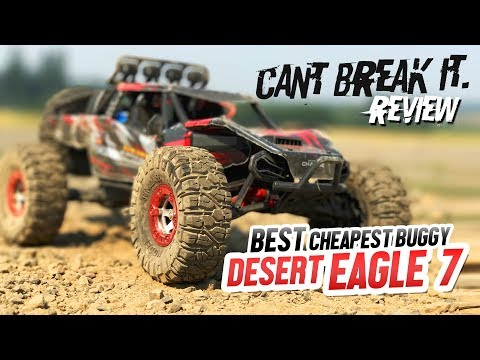 "BEST CHEAPEST RC BUGGY - Desert Eagle 7, ""Can't Break It"" - Review & Drive Test"