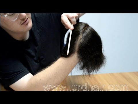 Amazing Single Strand Single Knotted Stock Hairpiece for Men - Lordhair