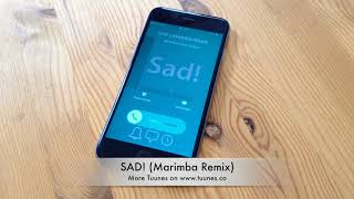 Sad! Ringtone - XXXTENTACION Tribute Marimba Remix Ringtone - IPhone & Android Download