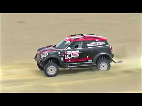 Yazeed Al Rajhi & Timo Gottschalk @ Stage 8 of Rally Dakar 2019