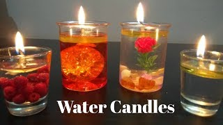 DIY Water Candles | Making Candles With WATER!?