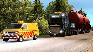 70T  OVERSIZE LOAD - Special Transport DLC First Look | Euro Truck Simulator 2