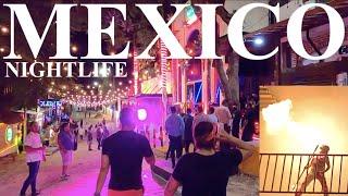 Nightlife In Playa Del Carmen | Bars & Club Scene | Late Night MEXICO🇲🇽