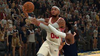 NBA Today 12/12 Denver Nuggets vs Portland Trailblazers Full Game Highlights (NBA 2K0