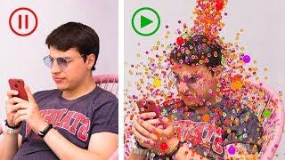 Renkli Toplar Yarışması! 13 Şaka ve Pratik Bilgi!