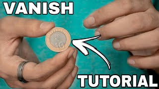 BEST Coin Vanish Magic TUTORIAL!!! (Impromptu)