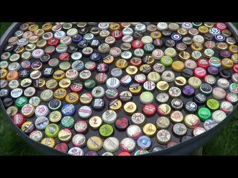 Jak zrobić stolik z kapsli po piwie? DIY