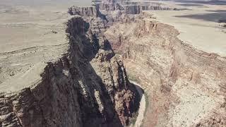 Long Range Desert Canyon FPV Drone Flying