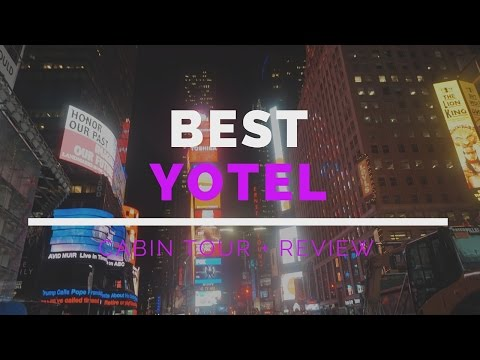 YOTEL New York Premium Queen  Best Room Tour + Review WEWORK membership Perks