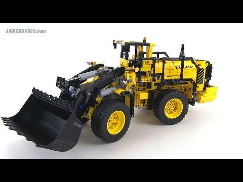 LEGO Technic Volvo L350F Wheel Loader 42030 review! Full RC control