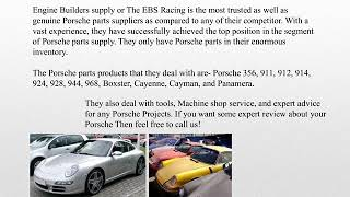 Porsche parts catalog for your Porsche | EBS Racing
