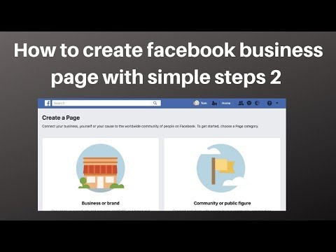 How to create facebook business page with simple steps 2