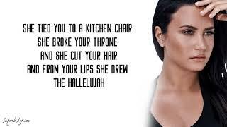 Demi Lovato - Hallelujah (Lyrics)