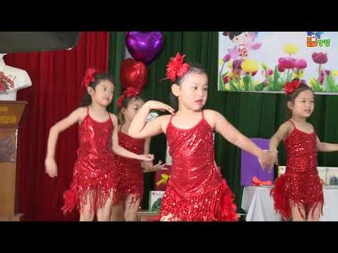 Tiết mục Dance Sport sôi động đến từ các bé trường mầm non Thăng Long