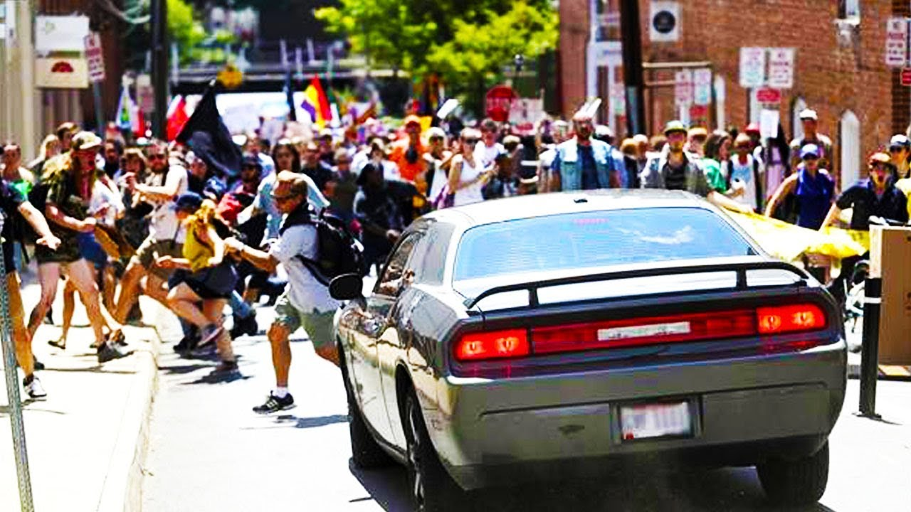 Neo-Nazi Drives Through Crowd Of Protesters In Charlottesville (VIDEO) thumbnail