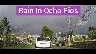 Rain in Ocho Rios Jamaica