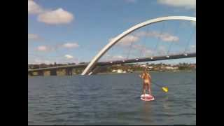 preview picture of video 'Stand Up Paddle Lago Paranoá'