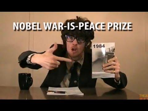 Barack Obama wins the Nobel War-is-Peace Prize [RAP NEWS 2]