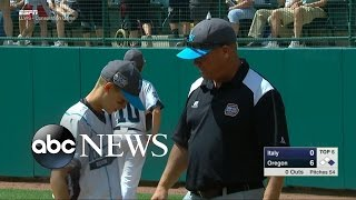 Dad Tells Son He Loves Him During Little League World Series