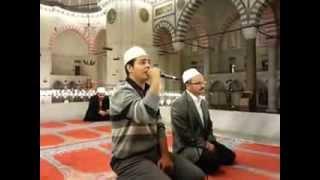 Hafız Habib İSPİRLİ Hocamızdan çok Tatlı Bir Tilavet (Huvallahullezi) Süleymaniye Camii