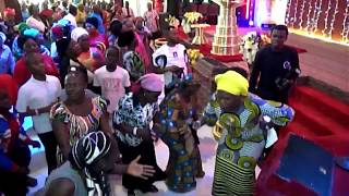 Bukola Bekes ministering at the 15th Anniversary of Shekinah
