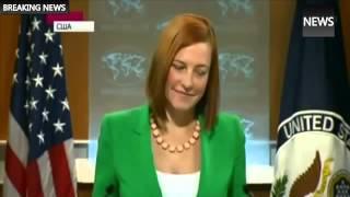 Джен Псаки резидент Камеди Клаб в Госдепе США.