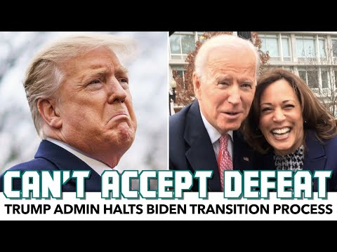 Trump Admin Halts Biden Transition Process
