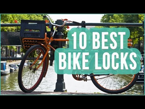 Best Bike Lock 2016? TOP 10 Bicycle Locks | TOPLIST+
