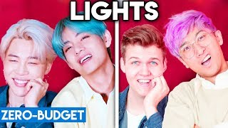 K POP WITH ZERO BUDGET! (BTS   Lights)