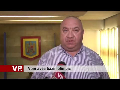 Vom avea bazin olimpic
