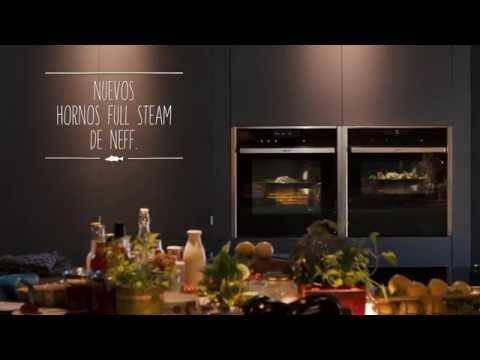 Nuevos hornos NEFF con FullSteam: hornea, gratina, cocina al vapor... todo en 1