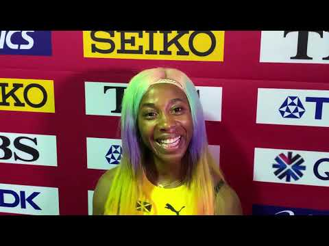 Shelly-Ann Fraser-Pryce After 10.71 2019 World Championship Win Talks Legacy