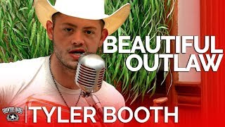 Tyler Booth - Beautiful Outlaw (Acoustic) // Country Rebel HQ Session