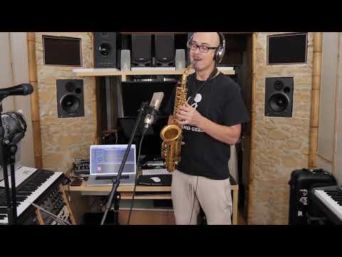 Kazka - Плакала (Саксофон запись в студии)