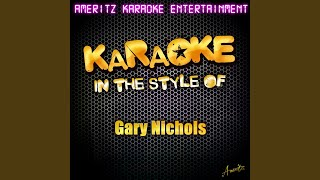 I Can't Love You Anymore (Karaoke Version)