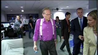 Zákulisí z natáčení s Larry Kingem - Show Jana Krause 23. 9. 2011